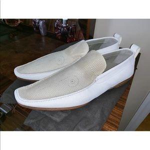 Bruno Magli white shoes 11.5